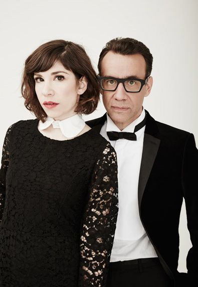 Carrie Brownstein and Fred Armisen. Put a pin on it.