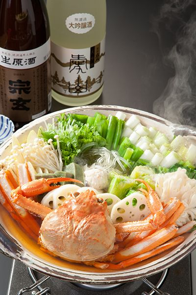Seafood and Vegetables Nabemono Hotpot, Popular Winter Meal in Japan 鍋