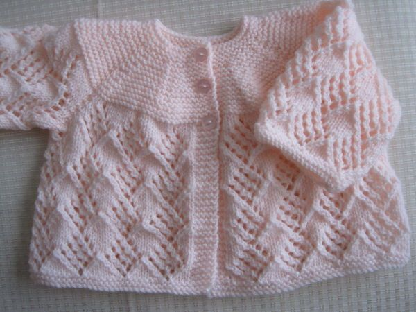 Some Recently Knitted Baby Items