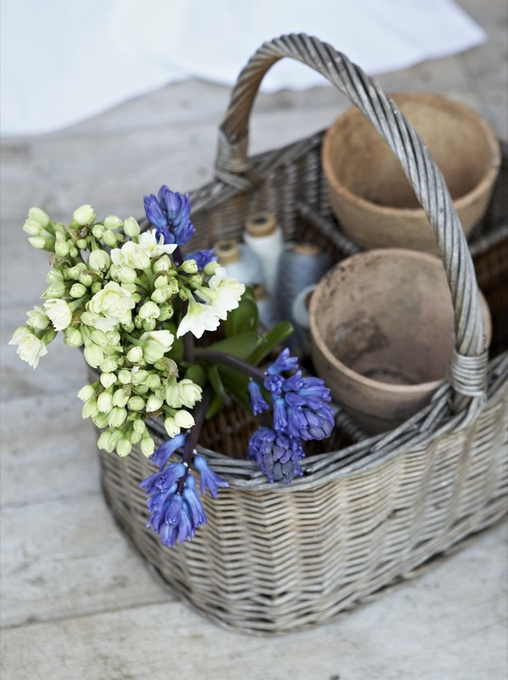 Pretty, I love old baskets. I have had tons over the years. I wind up having to think them out ever so often!