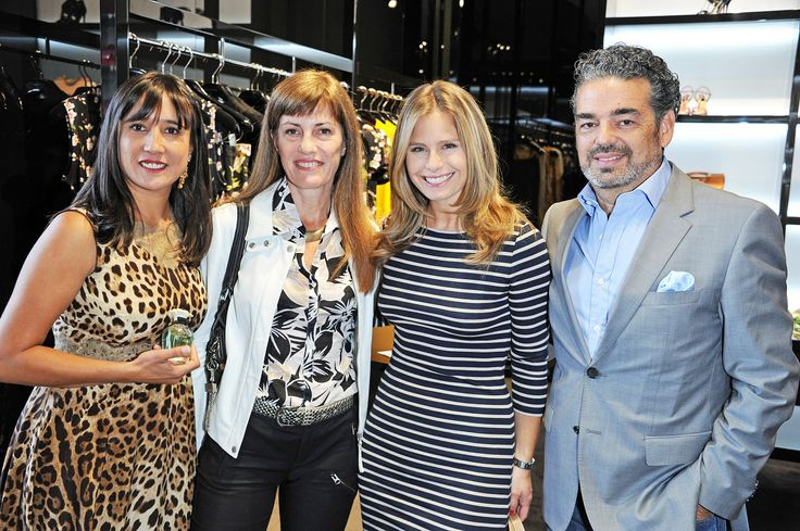 Jacqueline Orellana, Astrid Ljungmann, Soledad Onetto y Jorge Godoy