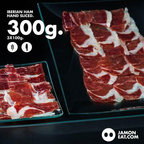 Buy Iberian Ham Hand Sliced 3x100g
