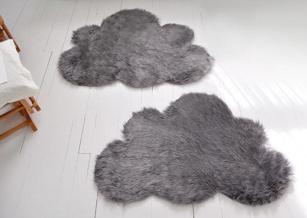 Créer un tapis en forme de nuage