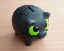 Toothless Piggy Bank