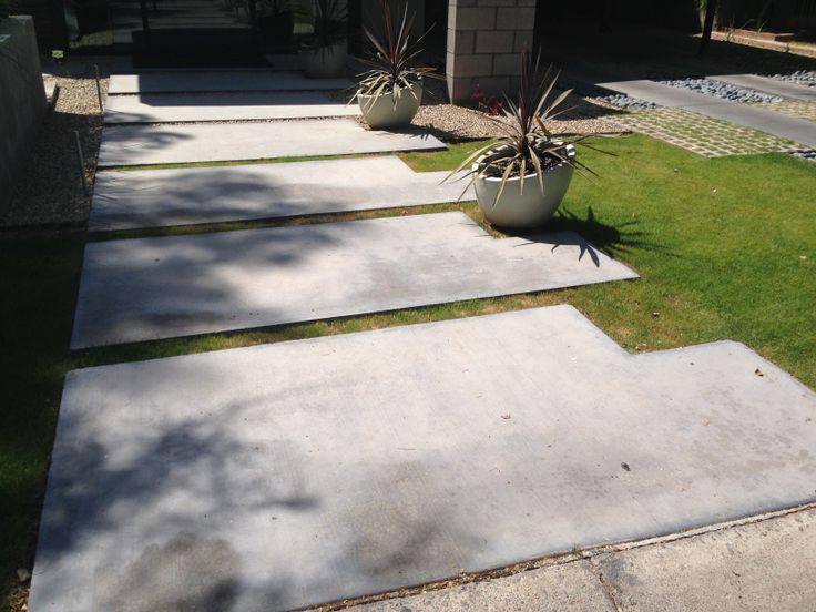 segmented concrete walkway #mcm #haver #phoenix #curbappeal