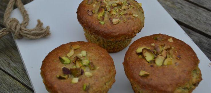 Muffin met pistache en chocolade | Lekker Tafelen
