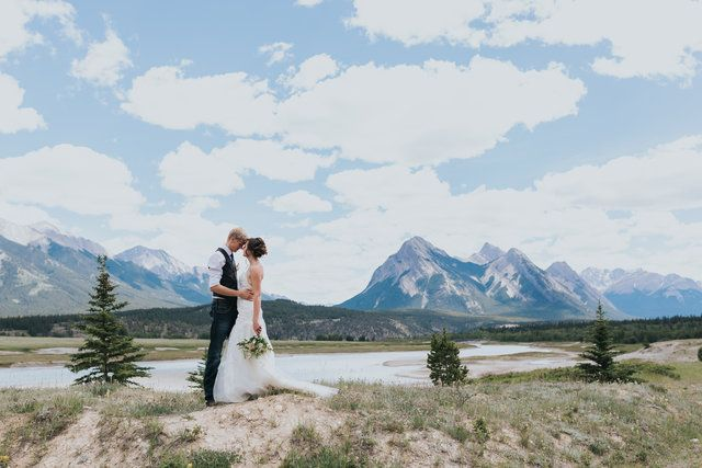 Nordegg is a spectacular location for a mountain wedding