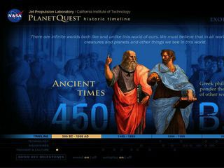 Watch the PlanetQuest interactive timeline in video format!