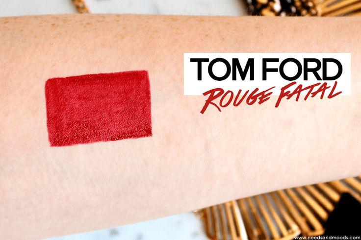 Sur mon blog beauté, Needs and Moods, je vous donne mon avis et vous propose des swatches du rouge à lèvres Tom Ford Lip Color Rouge Fatal.  http://www.needsandmoods.com/tom-ford-lip-color-rouge-fatal/  #TomFord @tomford #RougeALevres #lipstick #LipColor #RougeFatal #maquillage #makeup #Blog #Blogger #Beauté #Beauty #BlogBeauté #BlogBeauté #BeautyBlog #BeautyBlogger #BBlog #BBlogger #FrenchBlogger #TomFordMakeup #TomFordBeauty