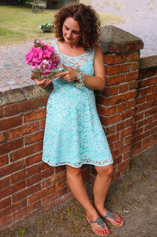 Kleid aus Spitze für eine Hochzeit nähen - Ella von Pattydoo