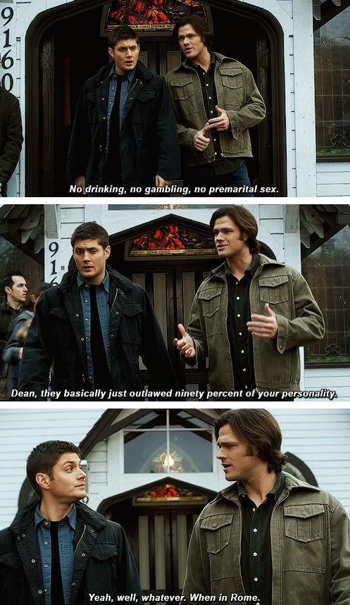 [gifset]  The beginning of Dean giving up. 5x17 99 Problems #SPN #Dean #Sam