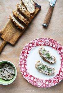 Pasta kanapkowa z białej fasoli. #fasola #orzechywłoskie