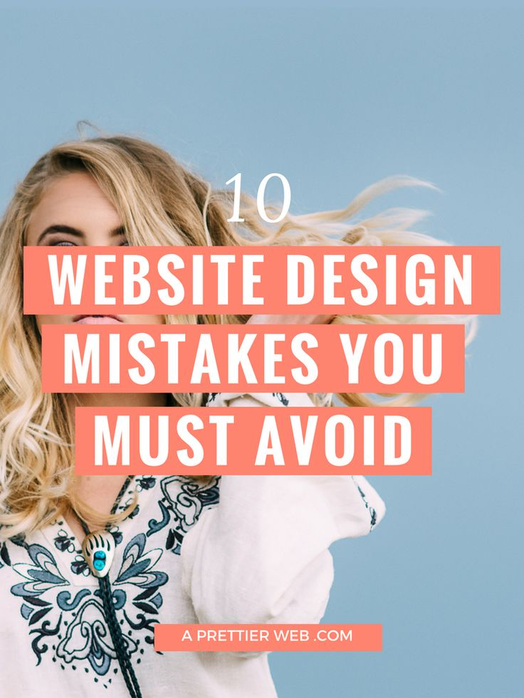 Bad website design can be a silent killer to your business. Your website can be the very first impression you make or be used as a tool to help support communication. In both respects, bad website design can turn people off and turn people away. You may not even know that you are repelling instead of attracting! 10 Common Bad Website Design Mistakes You have no clear headline Within seconds of visiting a website, you should have a clear idea of it's purpose. Are you selling, educating, es...