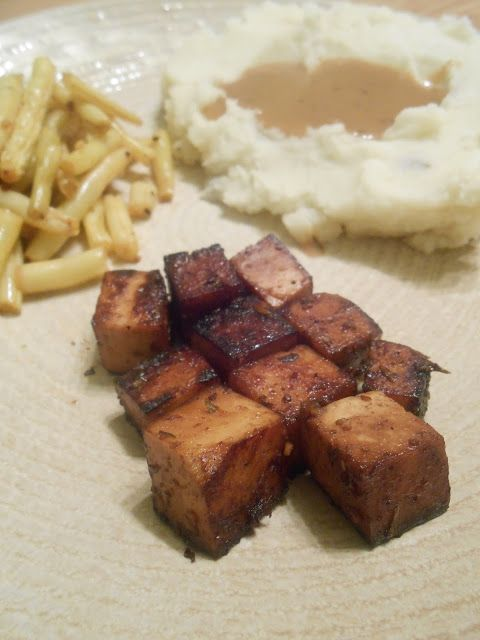 Eat cook and love: Tofu mariné façon London Broil