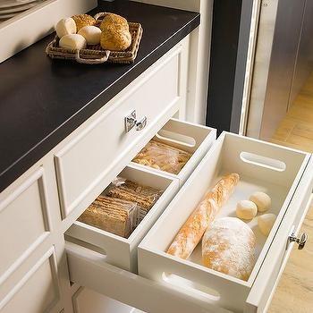 Dry bread storage.