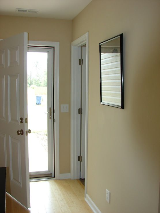 Another good neutral paint color for all over the house.  Sherwin Williams Kilim Beige.