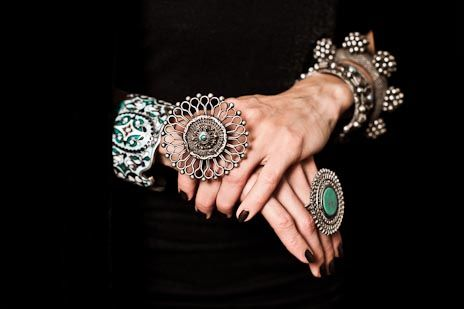 Antique Tribal Indian Silver Jewellery - need!