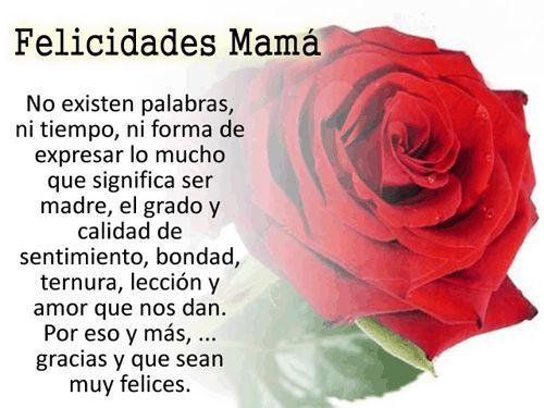 Frases y poemas para mama y todas las madres de Facebook en su día