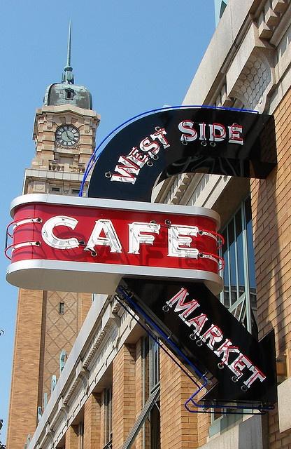 Love it here! West Side Market Cafe Cleveland