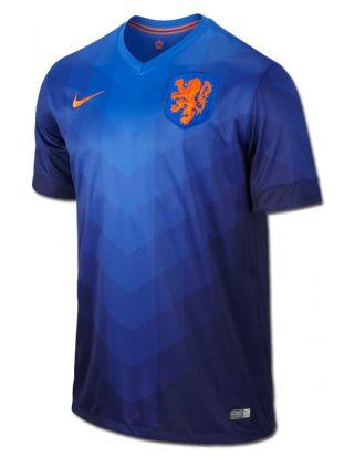 Modelo Stadium de la segunda camiseta de #Holanda de la  próxima #WC2014.