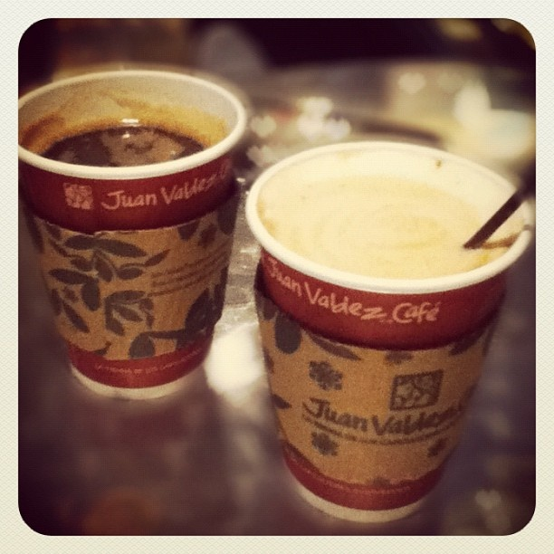 Colombian coffee ''Juan Valdez''. BEST Coffee ever!