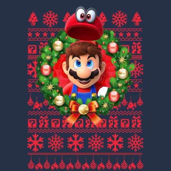 Happy Holidays Mario Kart Cute Christmas Wallpaper Mario And Luigi