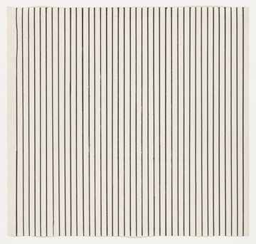 ellsworth kelly: vertical lines from the series line form color, 1951