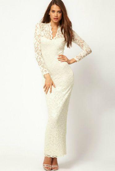Long dress zips sheathing