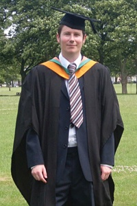 """Luke Attwood - MSc Software Engineering, De Montfort University, Leicester  """"Certainly some of the most memorable experiences must come from being introduced to various professors and lecturers that are world-leading experts in their field."""""""