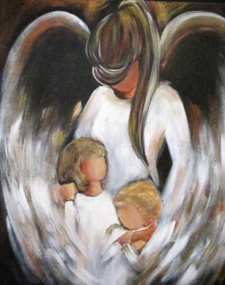 Asi estan y han estado desde siempre mis bebes! Bajo las alas de los angeles guardianes mas poderosos de Dios! m.g