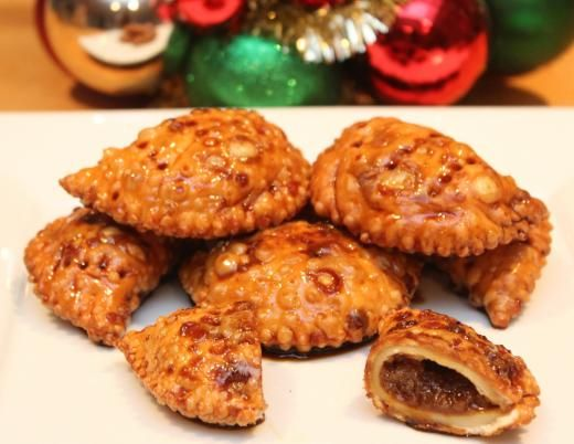 Bocconotti for Christmas {Almond Paste Filled Pockets}