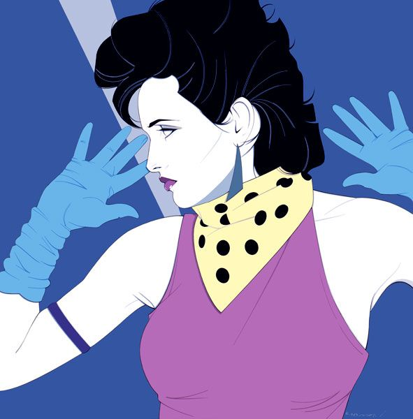 178 Best Patrick Nagel Images On Pinterest