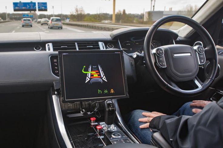 Jaguar Land Rover show driverless cars | Eurekar
