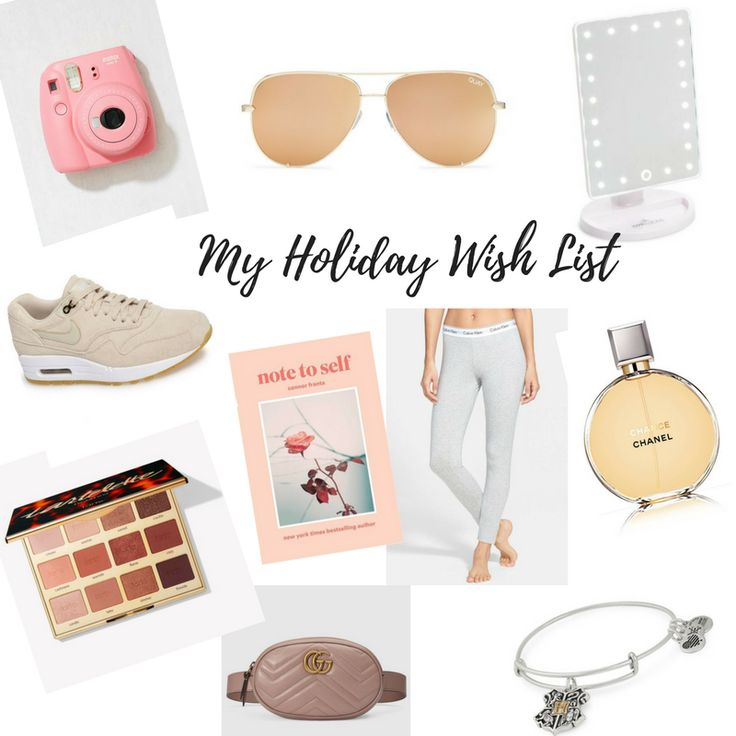 Holiday Gift Guide #ChristmasIdeas #Presents #Christmas #Gifts #Trends #Beauty #Makeup #Pajamas #Gucci #Purse #Jewelry #HarryPotter #Perfume #Chanel #Sunglasses #QuayAustralia #Nike #Sneakers #Books #Reading #Poetry #Quotes #Holidays #Christmas #CyberMonday #BlackFriday #Sales #Deals