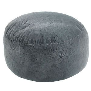 Extra-Large-Grey-Faux-Fur-Bean-Bag-Pod-Luxury-Gaming-Chair
