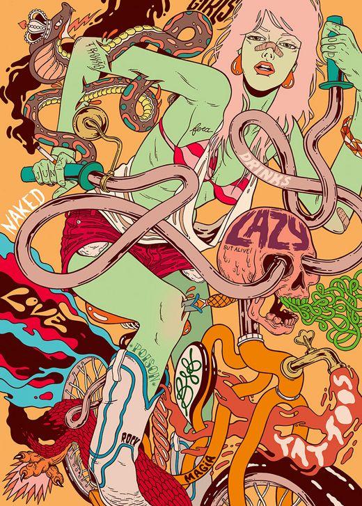 Bicicleta sem Freio