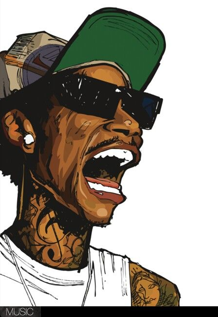 Wiz Khalifa Art