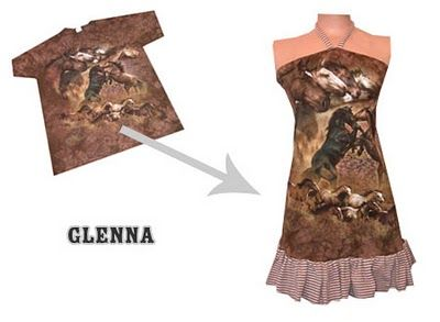 Adventures in Trashion: T-shirt reconstruction  Not a fan of the t-shirt but like this style and some of the other ideas