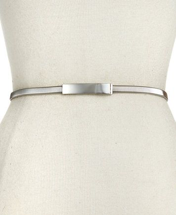 Style&co. Cobra Stretch Chain  Belt | macys.com