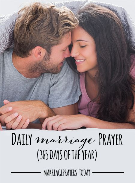 Daily marriage prayers from marriage prayers.today