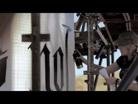 Faith47 - The Origin Wine Canvas - Wonderful video time lapse start to finish.  You can watch it in less than 3 minutes!