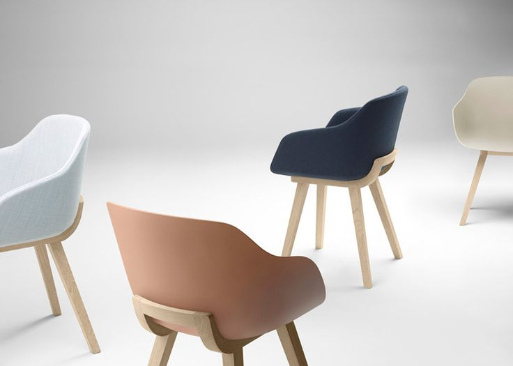 Chair designed to be fully recyclable and biodegradable.