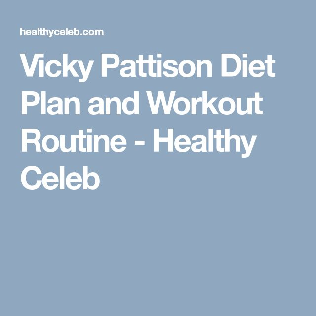Vicky Pattison Diet Plan and Workout Routine - Healthy Celeb