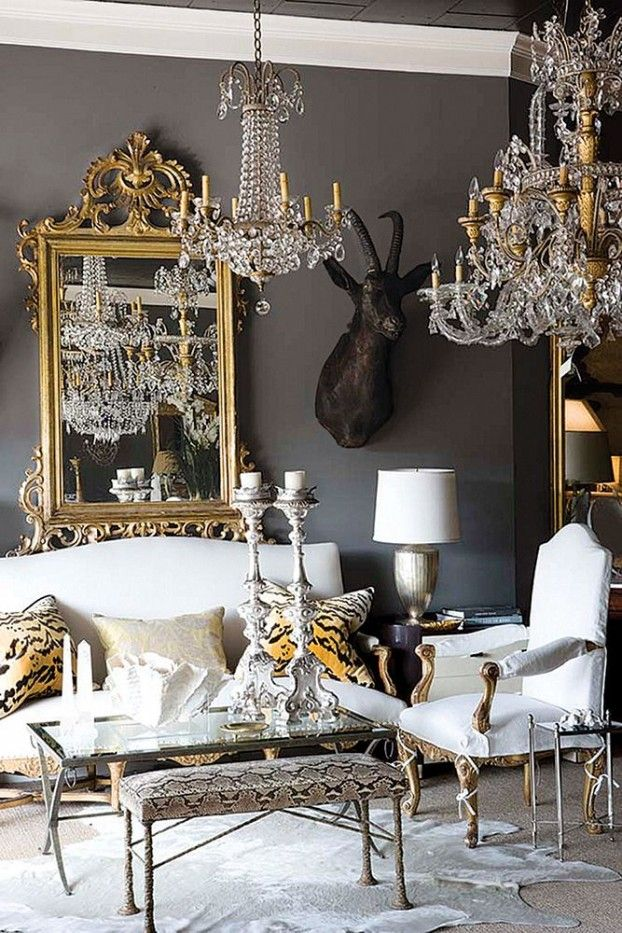 Believe it or not, painting your walls a darker shade can make your walls practically invisible and create instance elegance.