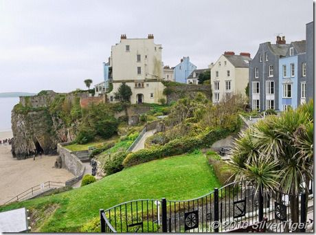 ~ Tenby on a cloudy day ~ Wales ~ UK ~ still beautiful!!