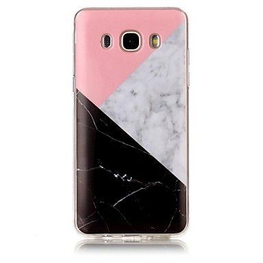 Voor IMD Patroon hoesje Achterkantje hoesje Marmer Zacht TPU voor Samsung J7 (2016) J7 J5 (2016) J5 J3 (2016) J3 Grand Prime - EUR € 3.91