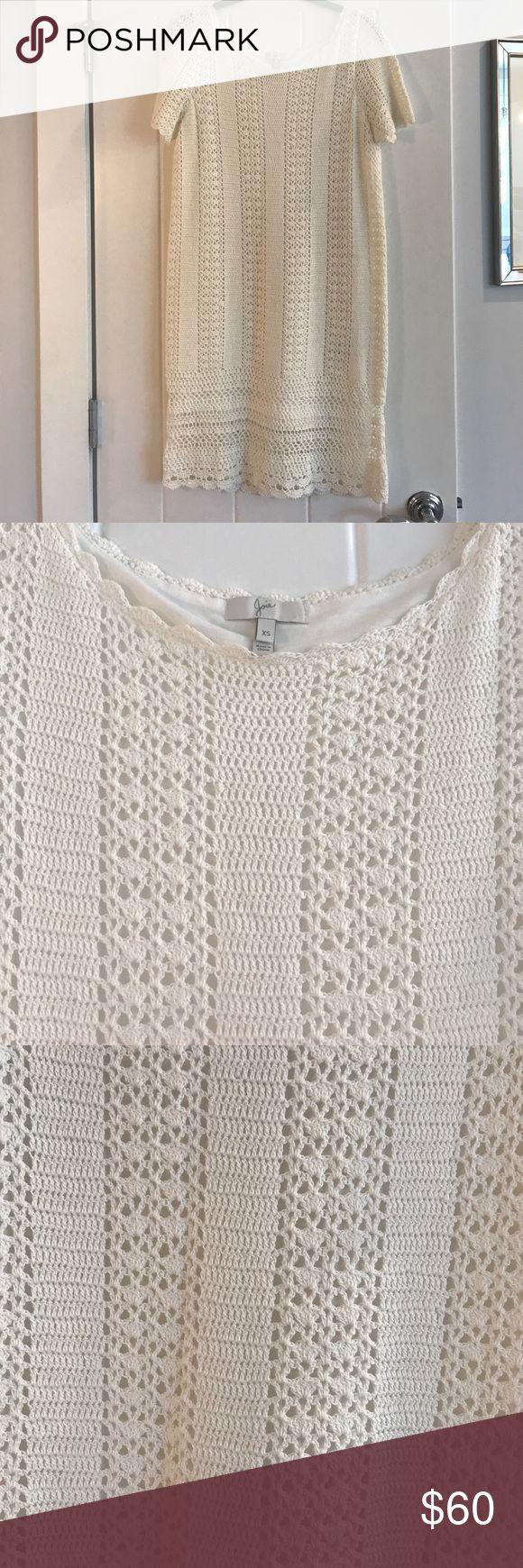 Joie dress Joie dress.  Crochet.  Worn once. Joie Dresses Midi