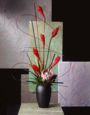 How to Make Tall Artificial Flower Arrangements