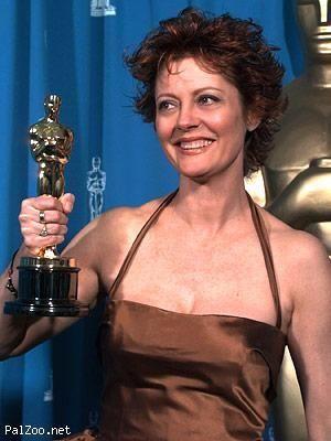 Susan Sarandon With Her Academy Award