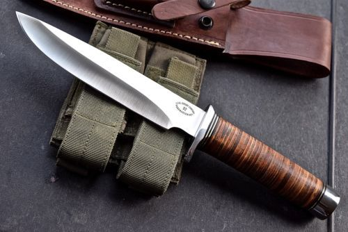 CFK-USA-Custom-Handmade-FULL-TANG-D2-VIETNAM-COMMEMORATIVE-Tribute-Bowie-Knife